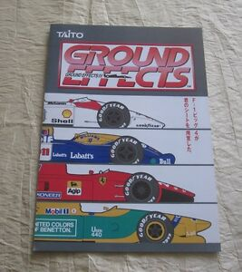 1992 TAITO GROUND EFFECTS JP VIDEO FLYER