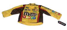 Kid's Child's  M&M's NASCAR Jacket By Kyle Busch # 18  Size XS