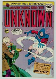 Adventures into the Unknown 156 Silver Age sci-fi American Comics 1965 FN