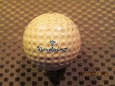 LOGO GOLF BALL-TURNBERRY GOLF COURSE.SCOTLAND.DUNLOP 65 BALL.SUPER RARE!! 60'S??