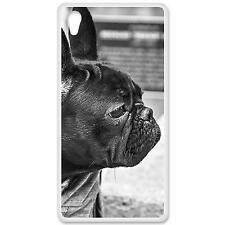 Coque Housse Etui Sony Xperia Z5 à motif Silicone Gel qualité FR - Bulldog