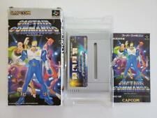 Super Famicom Captain Commando Capcom Video Game Nintendo SHVC-QM Complete CIB