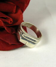 Sterling Silver Mexico Modernist Style Ring Size 10.5 Cat Rescue