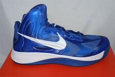 NEW MENS NIKE HYPERFUSE TB TEAM BASKETBALL SHOE SIZE 11 BLUE/WHITE 525019400