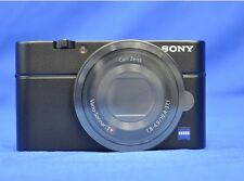 Sony DSC-RX100 RX100 Black Cyber Shot Digital Camera Language Only Japanese New