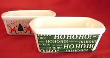 Ceramic Baking Mini Loaf Pans 2 le gourmet chef Holiday