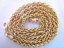 Königskette Silber 925 Vergoldet 43,14 Gramm Halskette Silver King Chain 1970