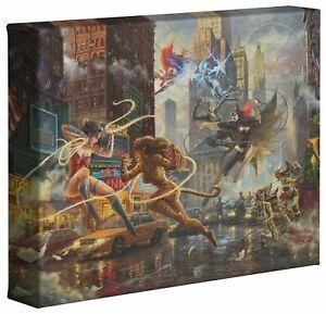Thomas Kinkade Studios Woman of DC 8 x 10 Gallery Wrapped Canvas