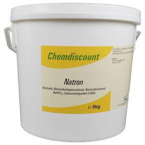 5kg Natron (Natriumhydrogencarbonat, Natriumbicarbonat, Backsoda)