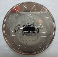 1981 CANADA VOYAGEUR DOLLAR PROOF-LIKE COIN