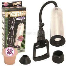 """8"""" Beginner Male Vacuum Penis Pump Enlargement Device Enlarger Enhancer For Men"""