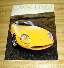 Four Vintage Cavallino Magazines, Numbers 40, 42, 43, 44, Enzo Ferrari Articles