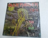 IRON MAIDEN KILLERS YELLOW EMI LABEL RARE LP record vinyl INDIA INDIAN EX