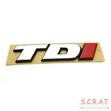 original VW BUS T4 TDI Emblema Signo Rotulación De Logotipo Rojo I 7d0853675c -
