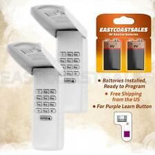 2 For Liftmaster 377LM Keypad Wall Garage Door Opener 139.53754 Purple Learn