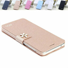 Luxury BDS Silk Pattern Leather Case Card Slot Cover For Lenovo A8 A806