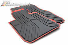 BMW Sport Line All Weather Floor Mats F30 F31 F34 F80 3 Series GT M3 FRONT