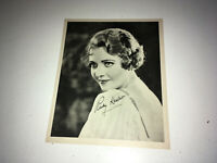 RUBY KEELER Vintage Promo Movie Photo 1930s Pretty Glamour Fashion Print
