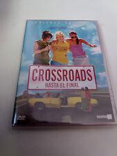 "DVD ""CROSSROADS HACIA EL FINAL"" COMO NUEVO BRITNEY SPEARS ZOE SALDANA TAMRA DAVI"