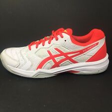 ASICS Womens Gel Dedicate White Pink Size 8 M (B) Tennis Court Shoes Sneakers