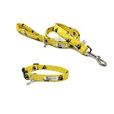 Bumble Bee Dog Collar and Lead Set