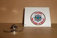 Cheshire FIRE e Rescue Service bavero pin badge