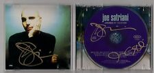 JOE SATRIANI SIGNED CD AND COVER ART ENGINES +1 AUTO AUTOGRAPH SIGN TWICE