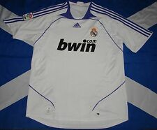 REAL MADRID 2007-2008 FOOTBALL SHIRT JERSEY HOME ADIDAS ORIGINAL
