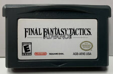 Final Fantasy Tactics for Nintendo GameBoy Advance GBA Cartridge Only Authentic