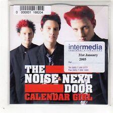 (GD496) The Noise Next Door, Calendar Girl - 2005 DJ CD