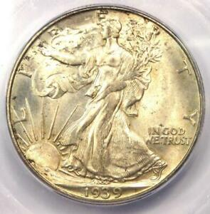 1939-D Walking Liberty Half Dollar 50C Coin - Certified ICG MS67 - $1,380 Value!