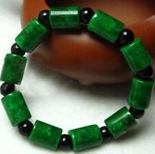 natural green Jade beads bracelet