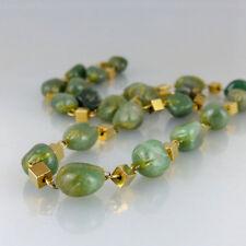 COLLIER Aventurin Perlen Splitterkette grün Geschenk 01720