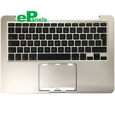 "13"" MacBook Pro Retina A1502 2013 2014 Topcase Palmrest Housing UK Keyboard"