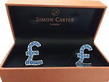 Gemelli Simon CARTER (London) – originali – mai indossati