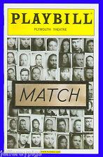 Playbill + Match + Opening Night + Frank Langella , Ray Liotta , Jane Adams