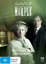 AGATHA CHRISTIE MARPLE * THE SITTAFORD MYSTERY * NEW SEALED DVD * REGION 4 - AUS