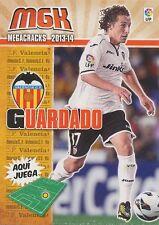 N°317 JOSE ANDRES GUARDADO # MEXICO VALENCIA.CF CARD PANINI MGK LIGA 2014