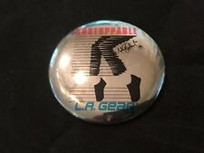 Michael Jackson LA  Gear Unstoppable Pin, Silver, Signature