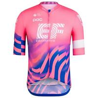 2020 RAPHA EF Pro Cycling Team Edition Flyweight SS Jersey Small S 2 Pink Argyle