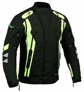 RIDEX Motorbike Motorcycle Hivis  Cordura Textile Jacket