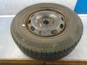 "VW Golf MK4 Bora Leon MK1 15"" Steel wheel & Tyre 195/65/15 4.5mm 1J0601027H"