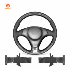 PU Leather Carbon Fiber Steering Wheel Cover for Toyota RAV4 Celica Lexus IS200