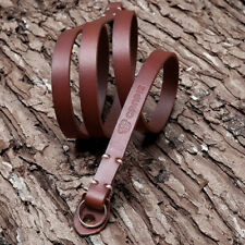 CANPIS Genuine Leather Camera Neck Shoulder Strap Slim for Fuji Sony Olympus BRW