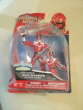 Power Rangers Super Megaforce Time Force RED RANGER Action Figure