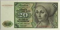 ALLEMAGNE - 20 MARK (1970) - Billet de banque (NEUF) 35C