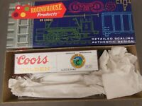 HO SCALE ROUNDHOUSE COORS 5443 36' BILLBOARD REEFER KIT