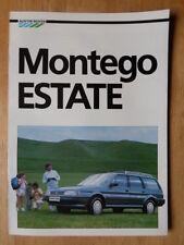 AUSTIN Montego 1.6LS Estate (Break) 1986 French Mkt Sales brochure - EO 250