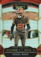 2018 Select Football Rookie Selections Prizm #4 Denzel Ward