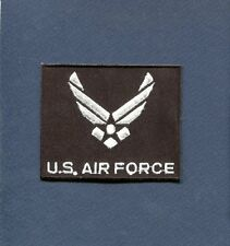 US AIR FORCE USAF INSIGNIA NEW HAP ARNOLD STYLE Black Squadron Hat Jacket Patch